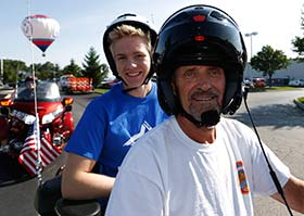 Star Jared is ready to help lead the Marysville Ride for Kid