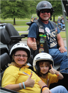 2016 Birmingham Ride for Kids Star Shelby